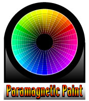 Paramagnetic paint